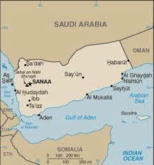 Above: Yemen