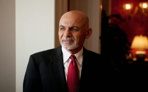 Current Afghan President Ashraf Ghani