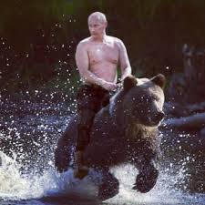 Probably the best (fake) picture of Putin on the Internet