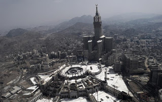 Mecca's Fancy New Skyline And Clock Tower