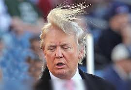 There will be hell toupée.
