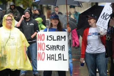 Replace Islam with Judaism and halal with kosher and suddenly everyone freaks out
