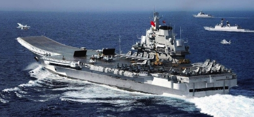 China's only aircraft carrier