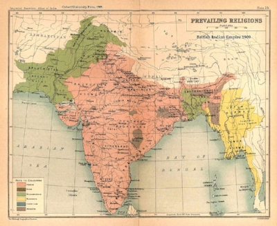 British India before the partition