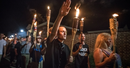 However, FARA can't do anything about the spread of neo-nazi tiki torches.