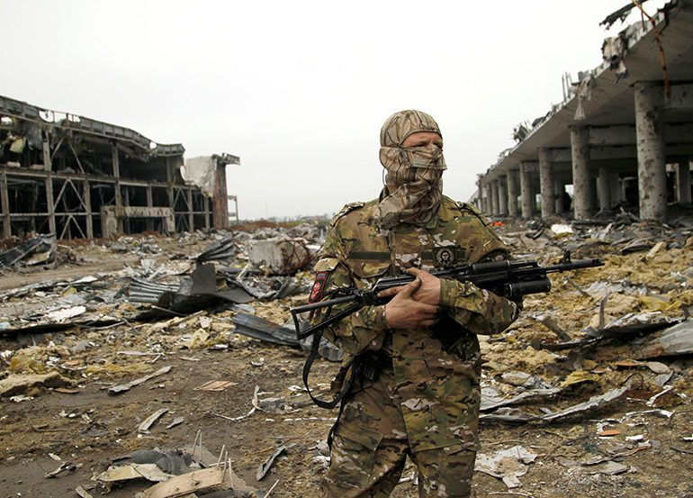 Let's not forget there is still an active war happening in eastern Ukraine.