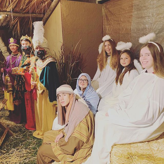 Great Looking Nativity Crew