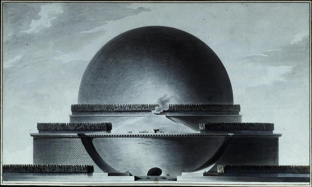 Étienne-Louis Boullée, Cenotaph for Newton.jpg