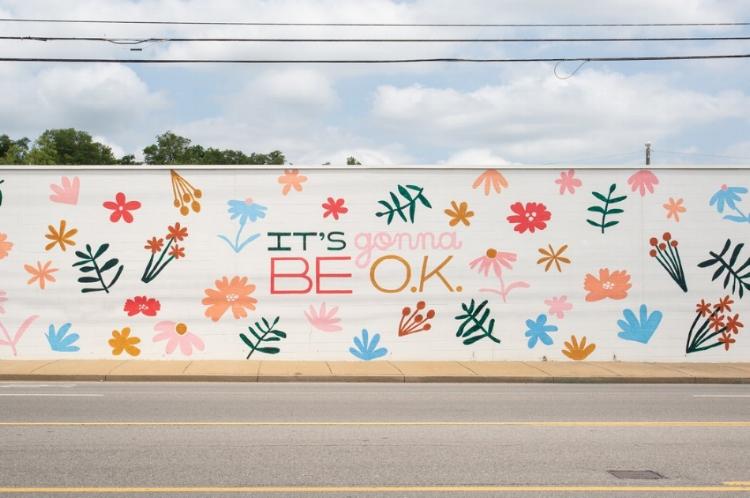 Photo By: Blu Sanders  Mural By: Sarah Tate