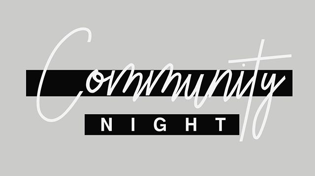 Join us this Friday at 7 pm on the third floor of our old building for a special time of fellowship. This event is open to everyone. Dinner will be provided. #community #communitynight #covenantfellowship #ebccem