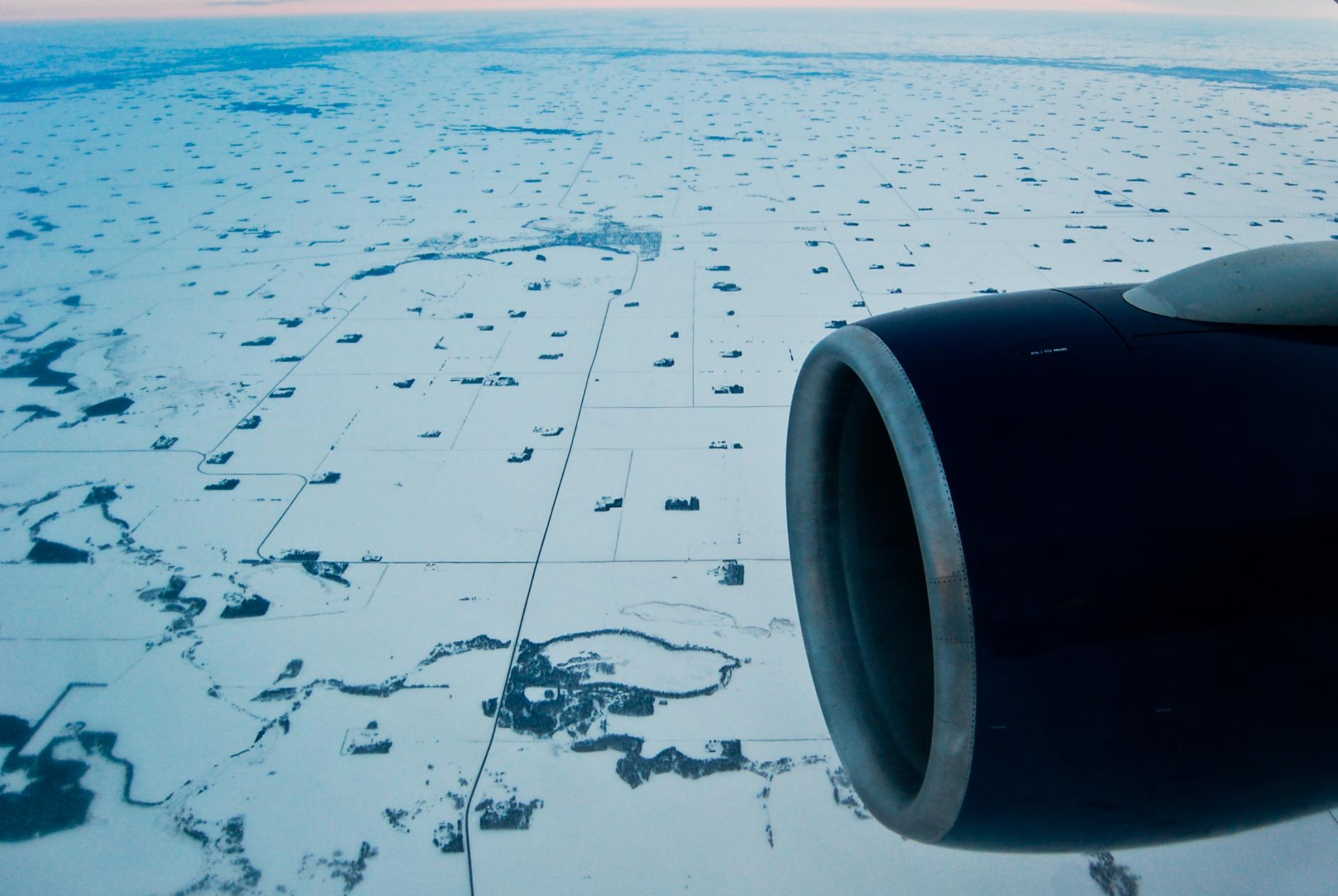 Somewhere over Minnesota 2011