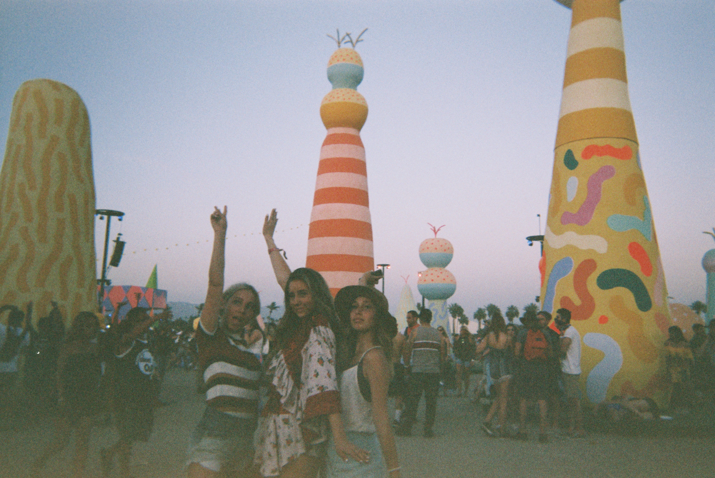 "Coachella day 1 2017 // I had just landed in LA from a three week international trip. Xoe and Xanthe texted me saying ""do you want to come to coachella?"" and I just don't think you can ever say no to that kind of question."