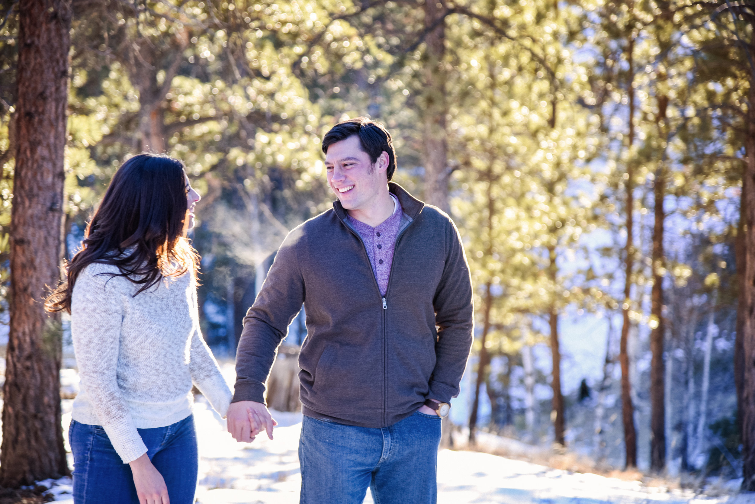 Colorado mountain engagement photos, colorado wedding photographer, denver wedding photographer, rocky mountain wedding photographer, colorado engagement photographer,