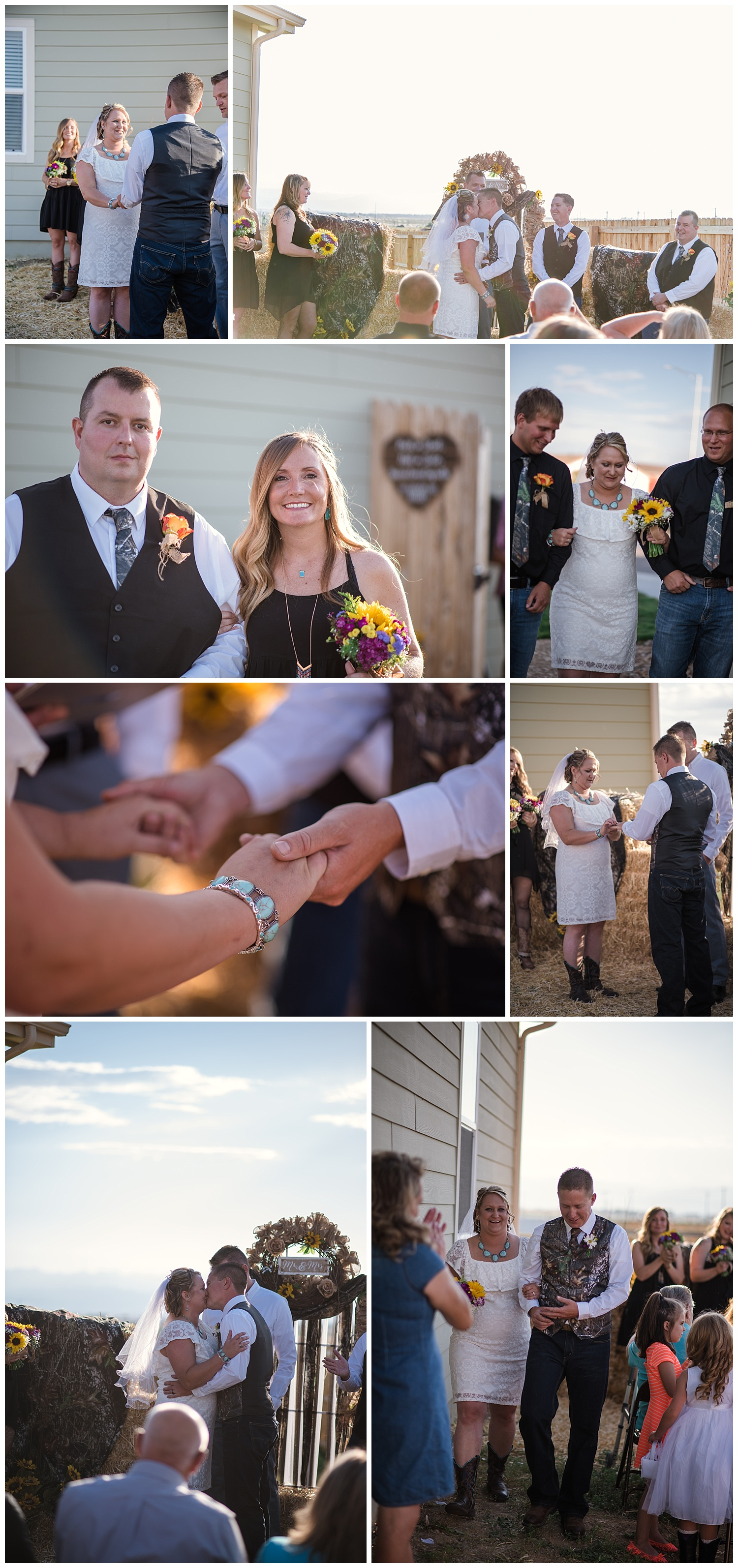 rustic wedding details, colorado wedding photographer, backyard colorado wedding, denver wedding photographer, intimate colorado wedding photographer
