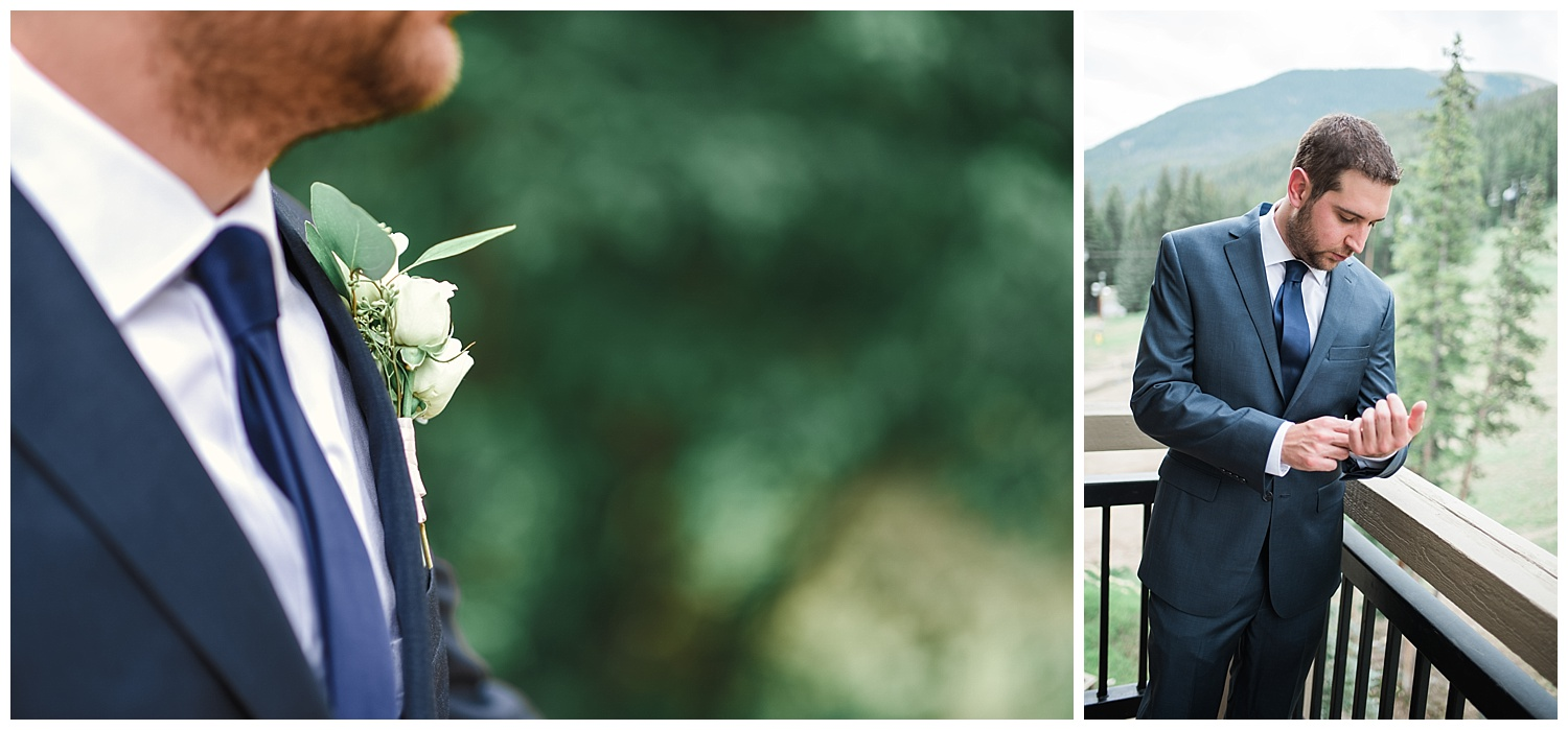 wedding day details at keystone resort in colorado, colorado wedding photographer, denver wedding photographer, intimate colorado wedding photographer, rocky mountain wedding photographer