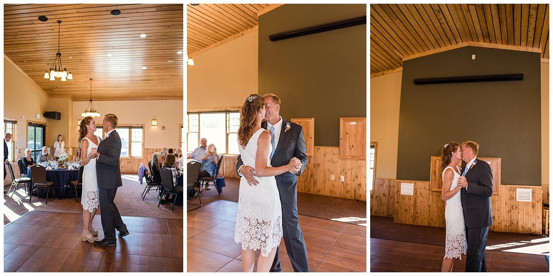 first dance at wedding, YMCA Snow Mountain Wedding, Rocky Mountain Wedding Photographer, Colorado Wedding Photographer, Colorado Elopement Photographer, Denver Wedding Photographer