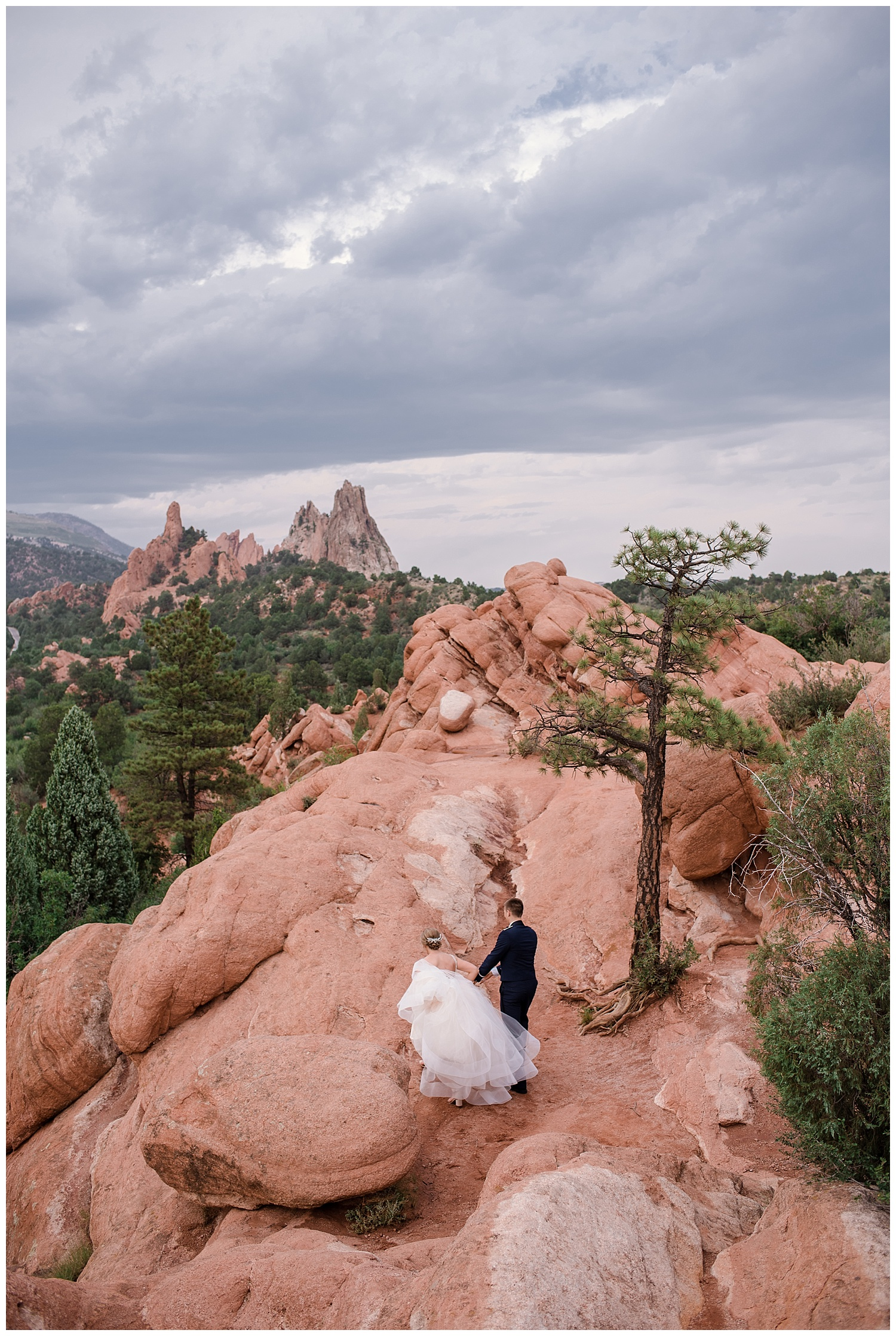 Military Wedding, bride and groom, navy suit groom, dress blues groom, Colorado Wedding Photographer, Denver Wedding Photographer, Denver Elopement Photographer, Colorado Elopement Photographer, Rocky Mountain Wedding Photographer, Downtown Denver Photographer, garden of the gods