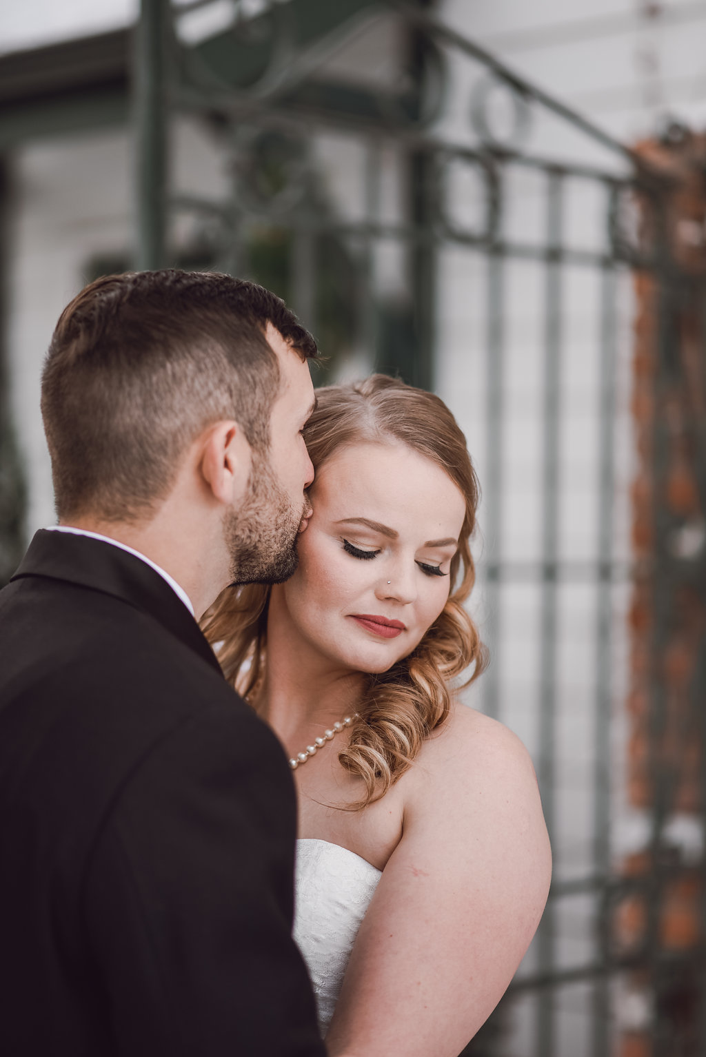 Romantic bride and groom portraits at Lionsgate Event Center, Colorado Wedding Photographer, Denver Wedding Photographer, Downtown Denver Wedding Photographer, Colorado Elopement Photographer, Rocky Mountain Wedding Photographer