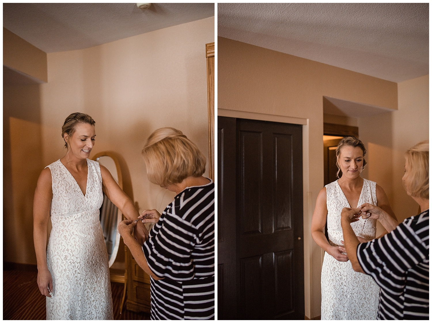 getting ready for the wedding, estes park resort, rocky mountain elopement photographer, rocky mountain wedding photographer, colorado wedding photographer, Estes Park wedding photographer