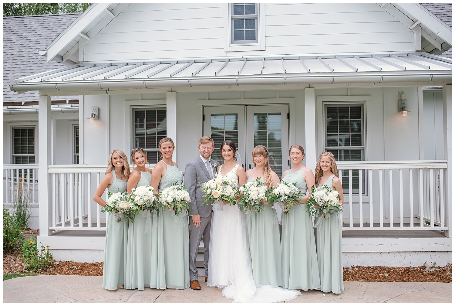 bridal party portraits, the barn at raccoon creek, colorado wedding photographer, denver wedding photographer, colorado elopement photographer, rocky mountain wedding photographer