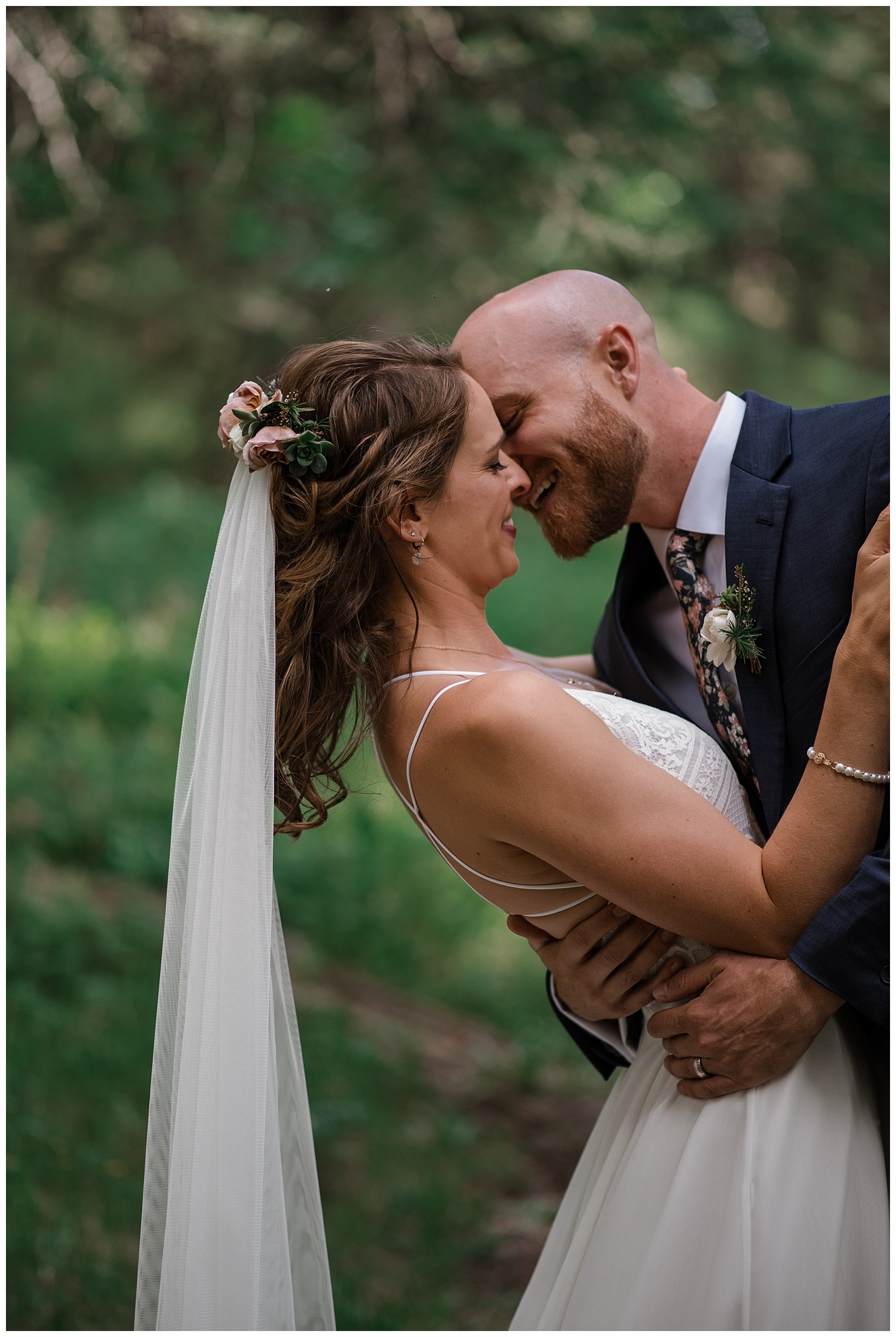 bride and groom portraits at Beaver Ranch in Conifer Colorado, Colorado Wedding Photographer, Rocky Mountain Wedding Photographer, Intimate Colorado Wedding