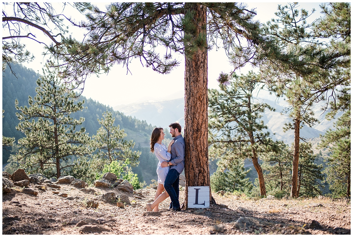 Romantic engagement photos at Lookout Mountain, Colorado Wedding Photographer, Downtown Denver Photographer, Colorado Elopement Photographer, Rocky Mountain Wedding Photographer, Denver Engagement Photography,