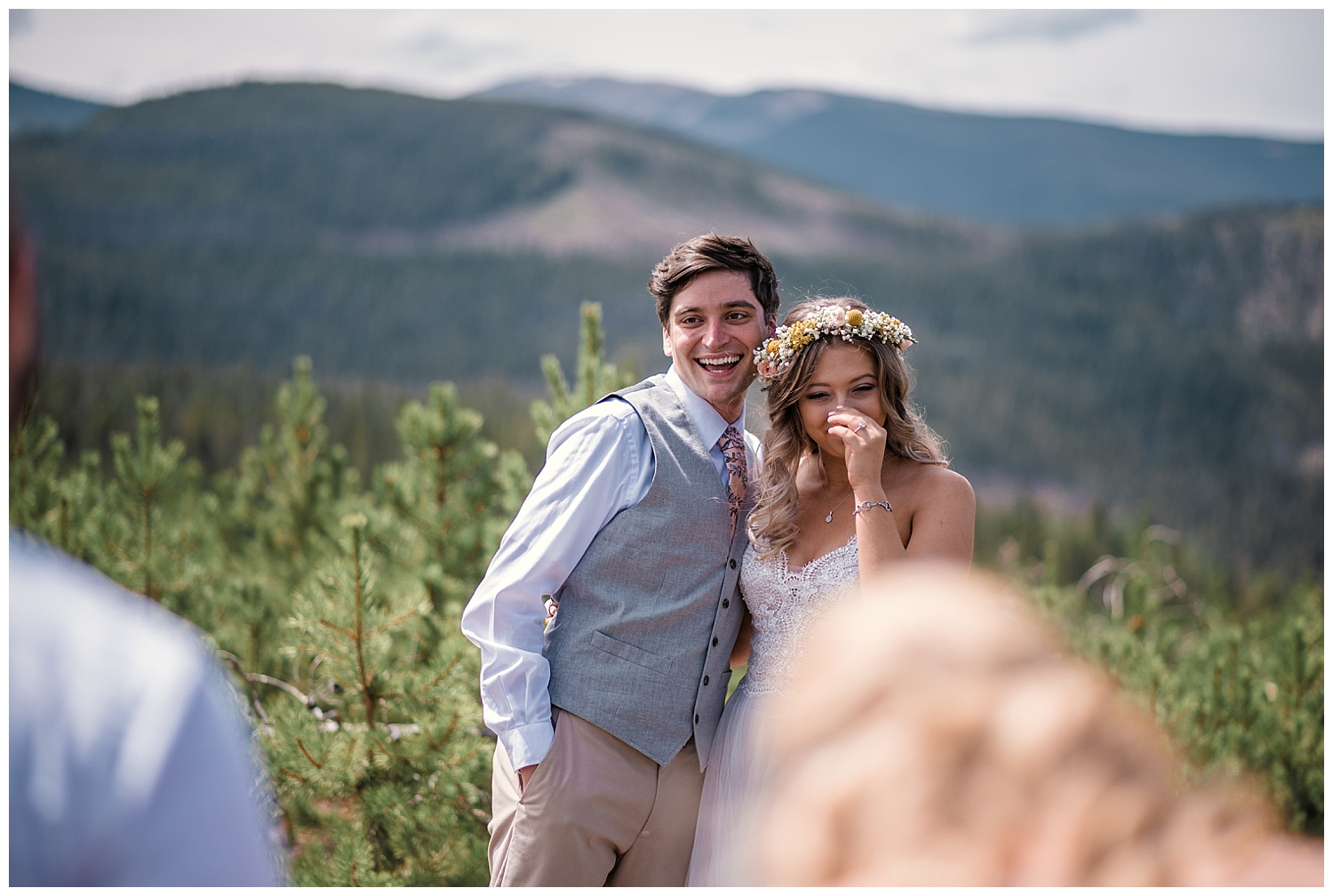 Bride and groom portraits at B Lazy 2 Ranch, Ranch Wedding in Colorado, Colorado Wedding Photographer, Denver Wedding Photographer, Intimate Colorado Wedding Photographer, Rocky Mountain Wedding Photographer, Winter Park Wedding Photographer