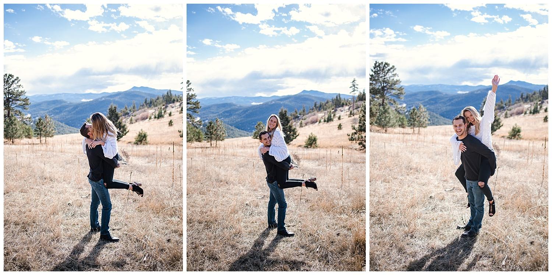 Colorado Wedding Photographer, Denver Wedding Photographer, Colorado Engagement Photographer, Denver Engagement Photographer, Downtown Denver Wedding Photographer, Mountain Engagement Photography, Mt Falcon Engagement, Denver Engagement