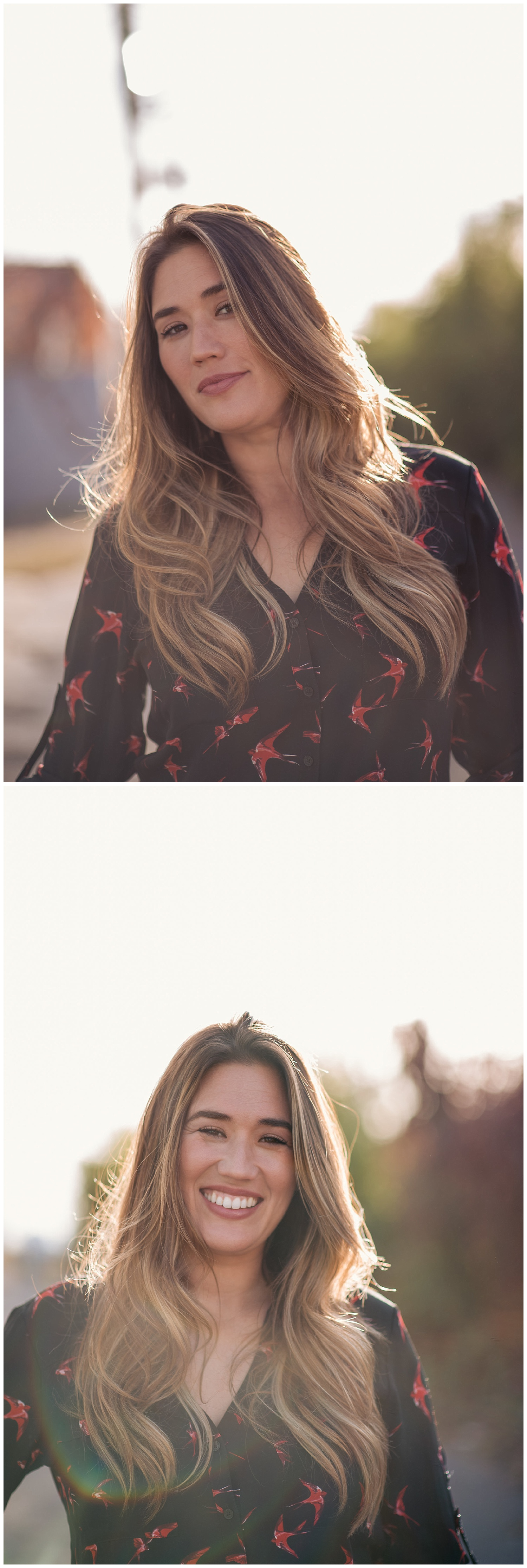 RINO headshots, downtown denver headshots, colorado headshot photographer, denver headshot photographer, denver corporate photographer, colorado corporate photographer, rino denver photography, female branding denver, brunette headshots, headshot posing, street photography denver, sunset headshots