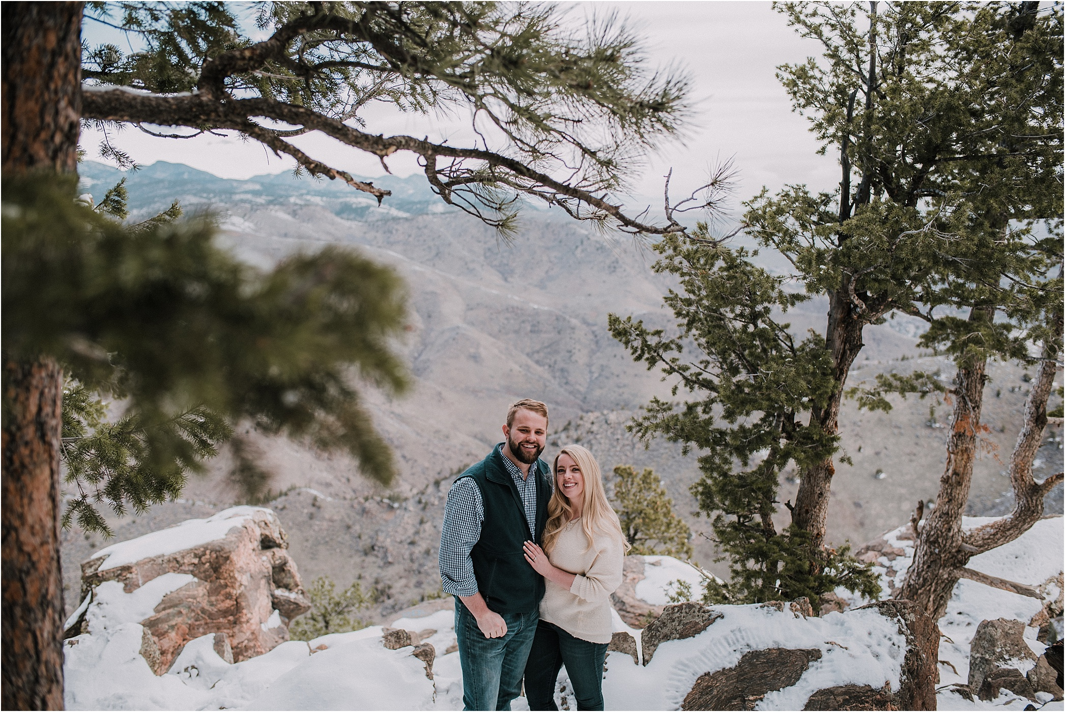 Mt Falcon Engagement Session, Windy Saddle Engagement, Colorado Engagement Photos, Denver Engagement Photos, Colorado Engagement Photographer, Denver Engagement Photographer, Colorado Videographer, Denver Videographer, Mountain Engagement Photos, Engagement photo outfit ideas, Forest Engagement session