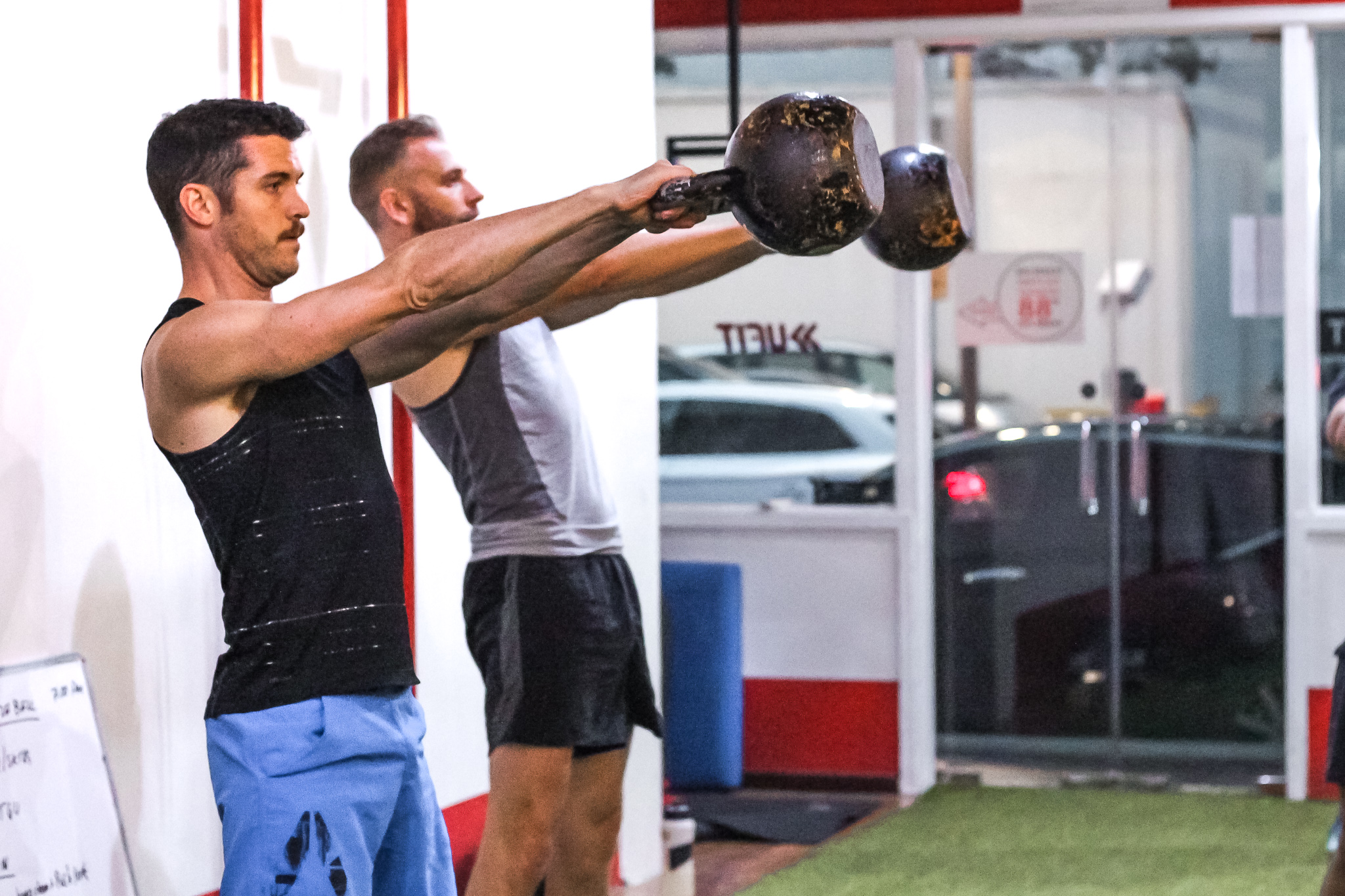 Kettlebell Conditioning   Looking to improve your conditioning, rep stamina, technique, strength, power and explosiveness? Join us for Kettlebell classes at UFIT Amoy Street to take your fitness to the next level!   Read more  →