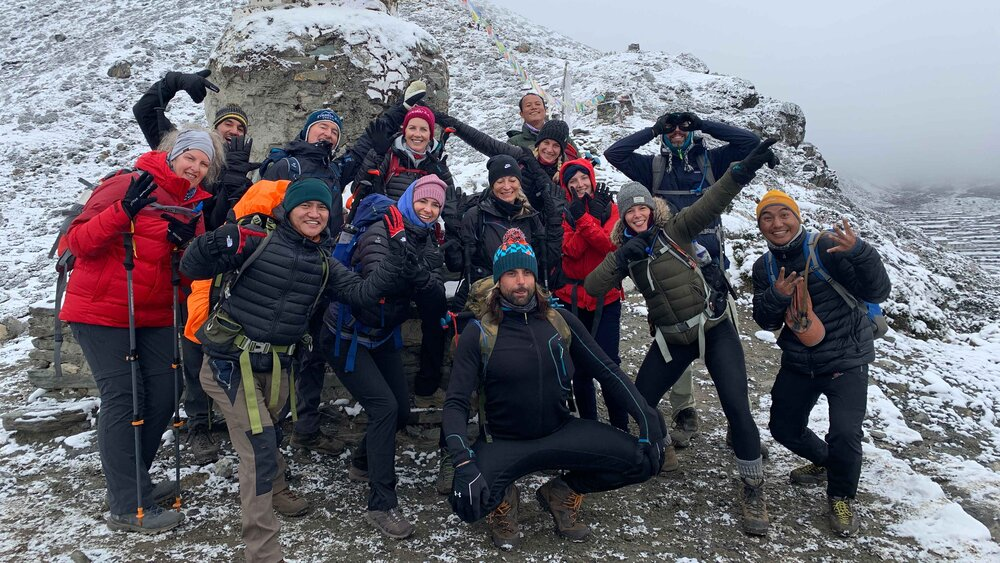 Everest+Base+Camp+UFIT+Retreats+Group+and+Team