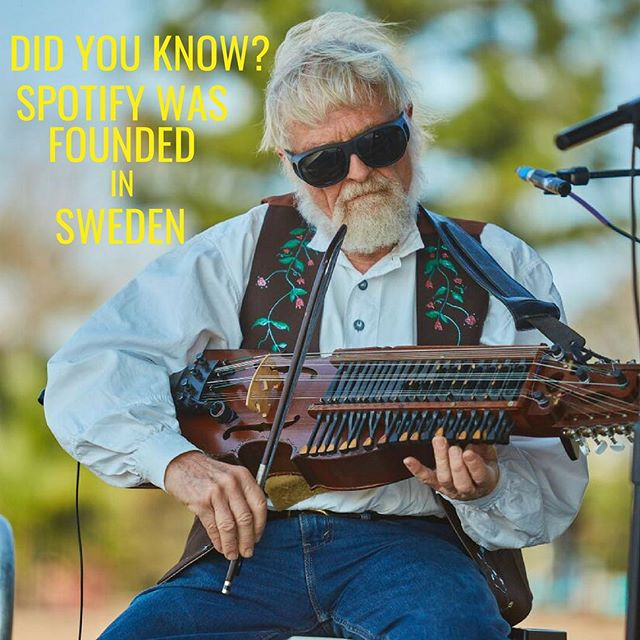 Did you know Spotify was founded in Stockholm, Sweden by Martin Lorentzon and Daniel Ek? Come listen to some traditional Scandinavian music at the Scandinavian Festival on the 9th of September! . . . . . . . . . #scandinavian #festival #spotify #scandinavianfestival #brisbane #queensland #stalls #denmark #norway #sweden #finland #iceland #scandifest #food #drinks #music #scandinavianfestivalbrisbane #fun #familyfriendly