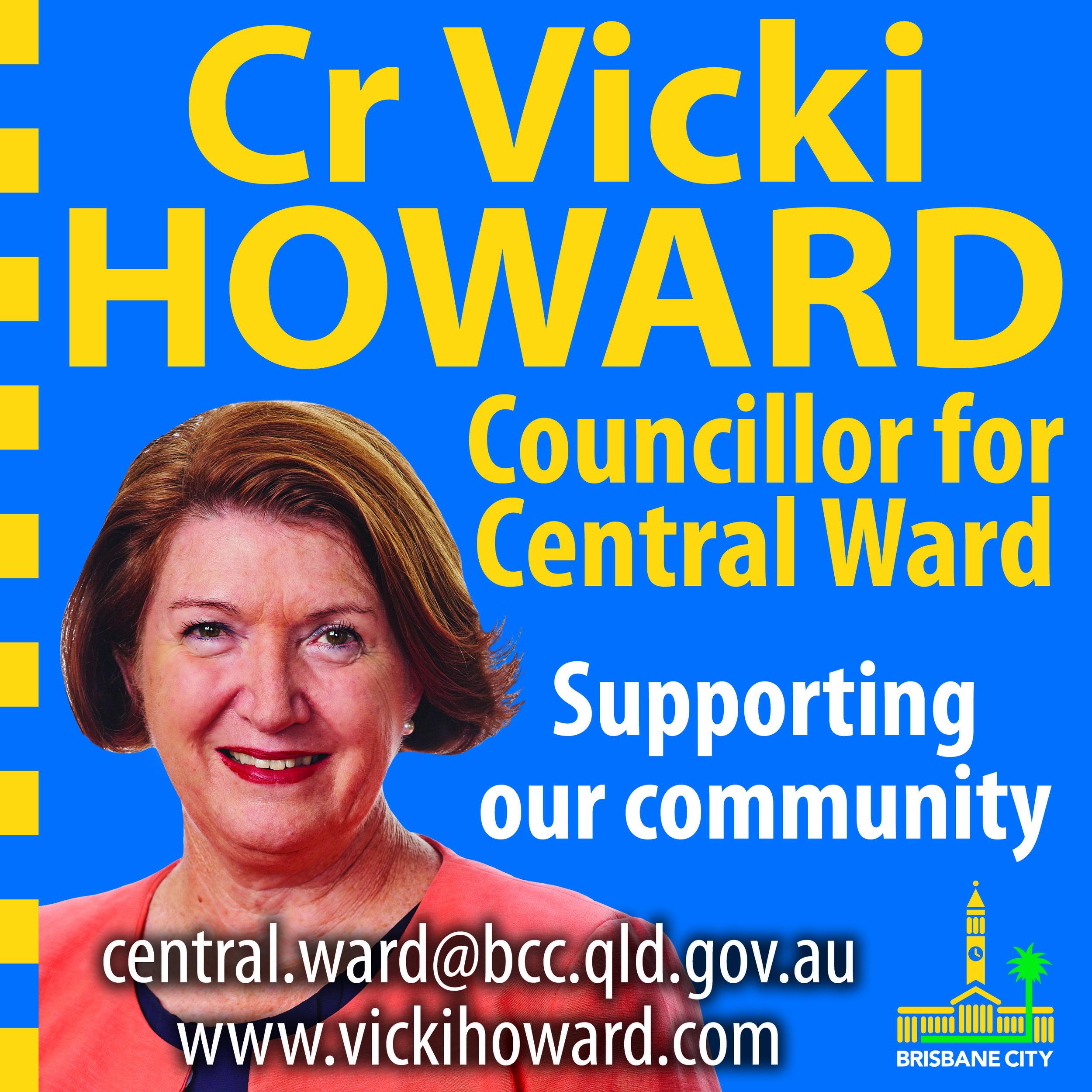 Cr Vicki Howard