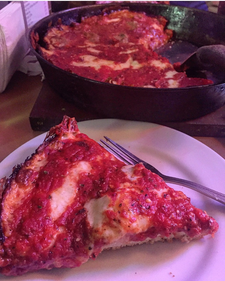 For the best crispy crust deep dish... - Pequod's Pizza2207 N Clybourn Ave, Chicago, IL(773) 327-1512I'm not a deep dish kind of girl, but I'll make an exception for this guy. Cheese crisp lovers? This place is for you,,,