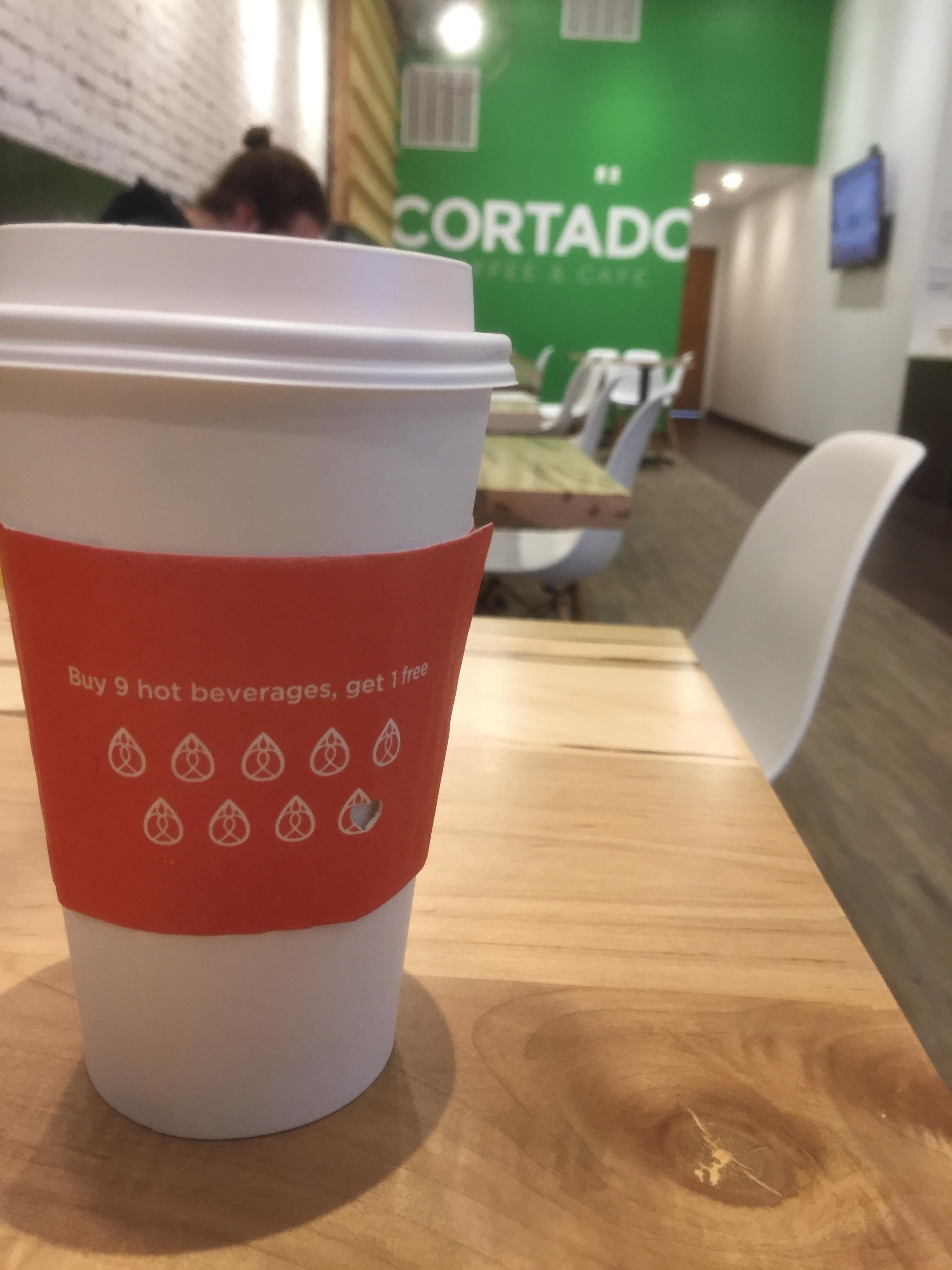When you want coffee with a modern vibe... - Cortado Coffee & Cafe26 S Clinton St, Iowa City, IA(319) 519-2340