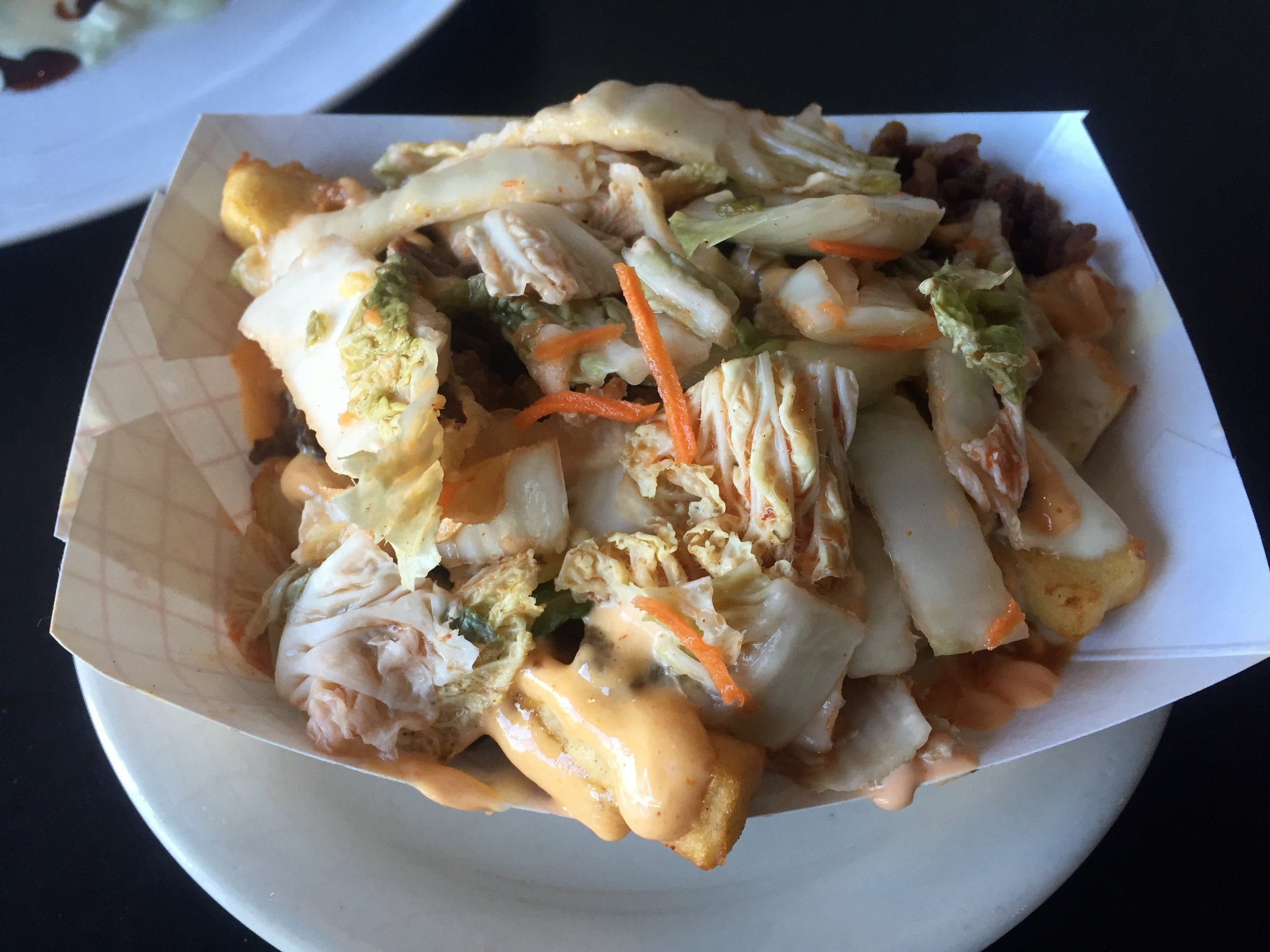 When you want your taste buds to explode... - Tacopocalypse407 E 5th St, Des Moines, IA(515) 556-0571*Personal Favorite - masa fries with Korean chicken (pictured)