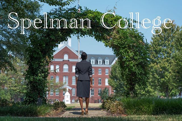 I had the privilege of being invited to speak at my alma mater @spelman_college for the @spelmansister2sister program. It was an honor - I remember sitting in those same auditorium seats...day dreaming for that very day💙💙💙#spelhouse #spelmancollege #spelmanalumna #morehousecollege #hbcu
