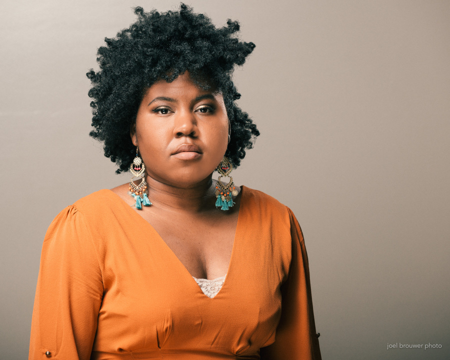 Ashley M. Jones - Ashley M. Jones is a poet and teacher from Birmingham, Alabama. She loves to write anywhere, and her favorite word, right now, is yes.