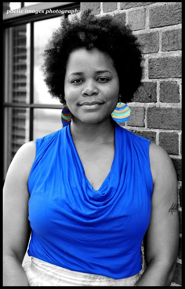 Shaunteka LaTrese Curry - Shaunteka LaTrese Curry is a Griot. A storytelling goddess using words and experiences to shape her personal universe into a self contained utopia of weirdos. Hoping to change the world one poem at a time, one person at a time. She has published two collections of poetry; Love Hard Live Free: Conversations with She and Honeysuckle Lyrics and can be find her within the local community creating platforms and opportunities of change through social and creative expression.