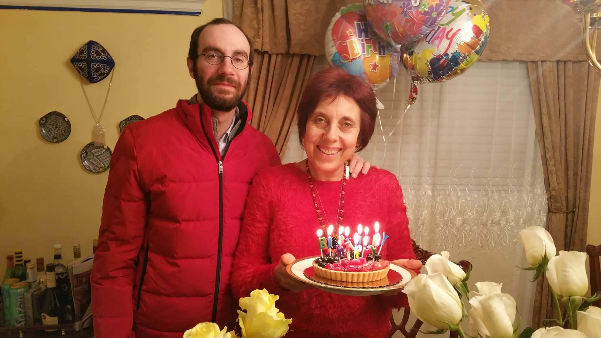 Rita and her son Maksim.