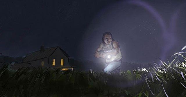 NightWhistler #1 Artwork by @jakerper ⠀ #louisiana #lakemartin #breauxbridge #filmlouisiana #filmla #redepicdragon #dannadolly filmtexas #houstonfilm #shortfilm #horror #comingsoon #featurefilm #houston #texas