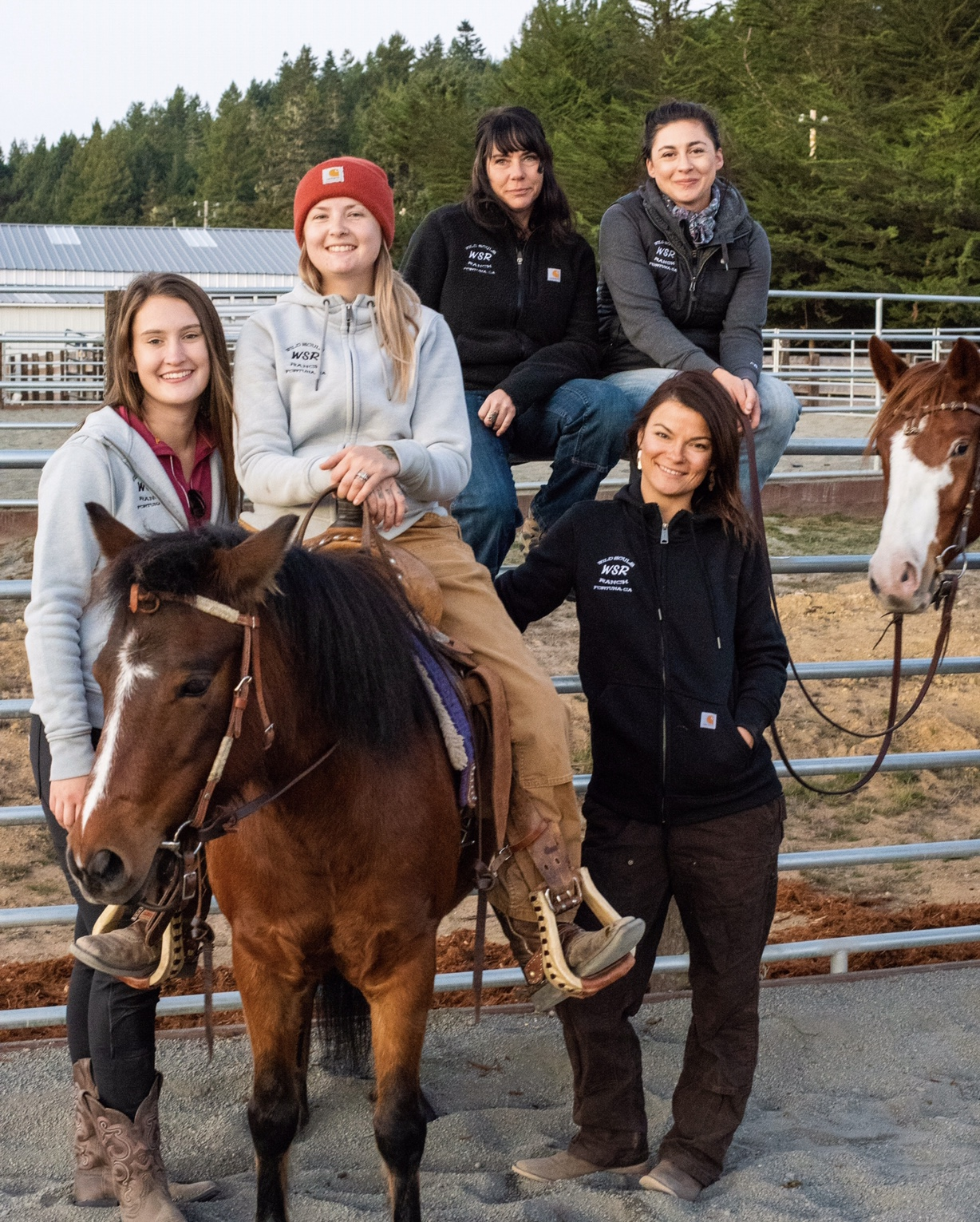 Wild Souls Ranch social workers, directors, and equine specialist- Fall 2018