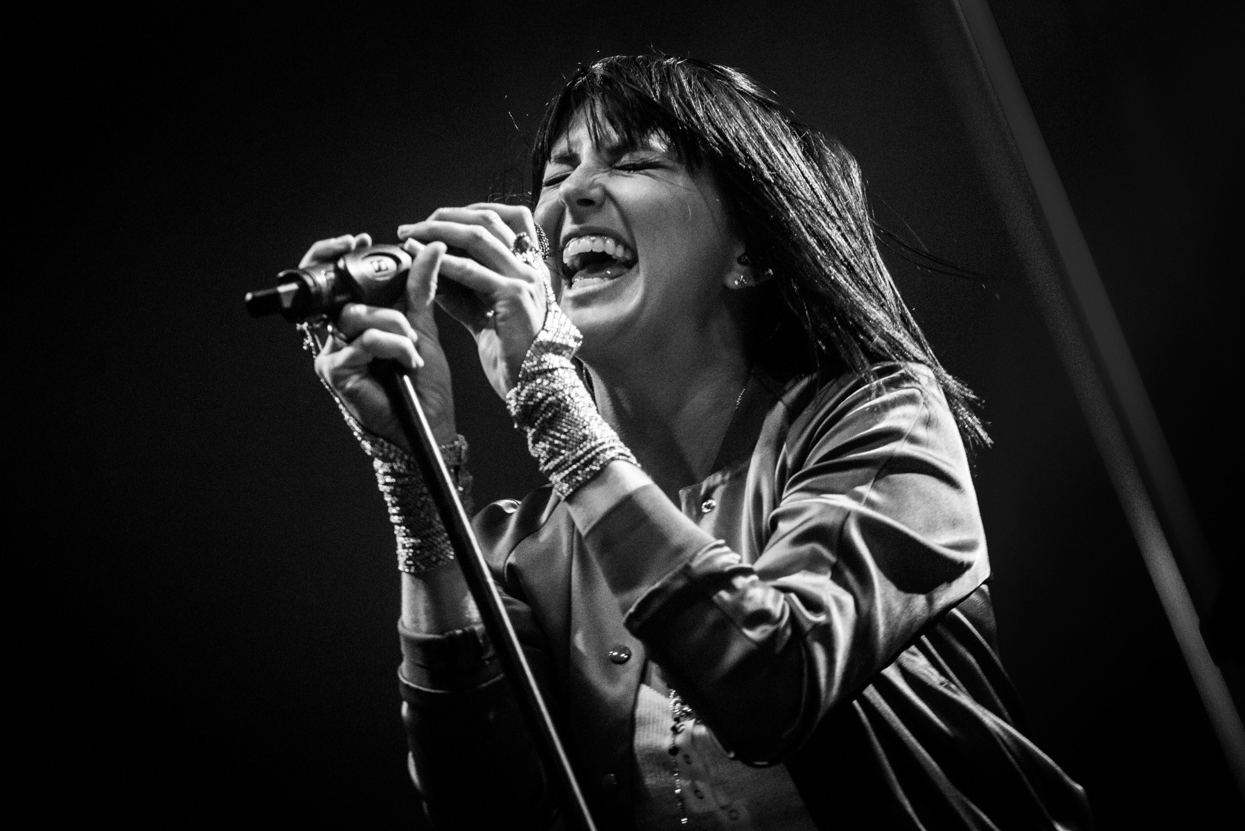 Phantogram at the 2015 McDowell Mountain Music Festival