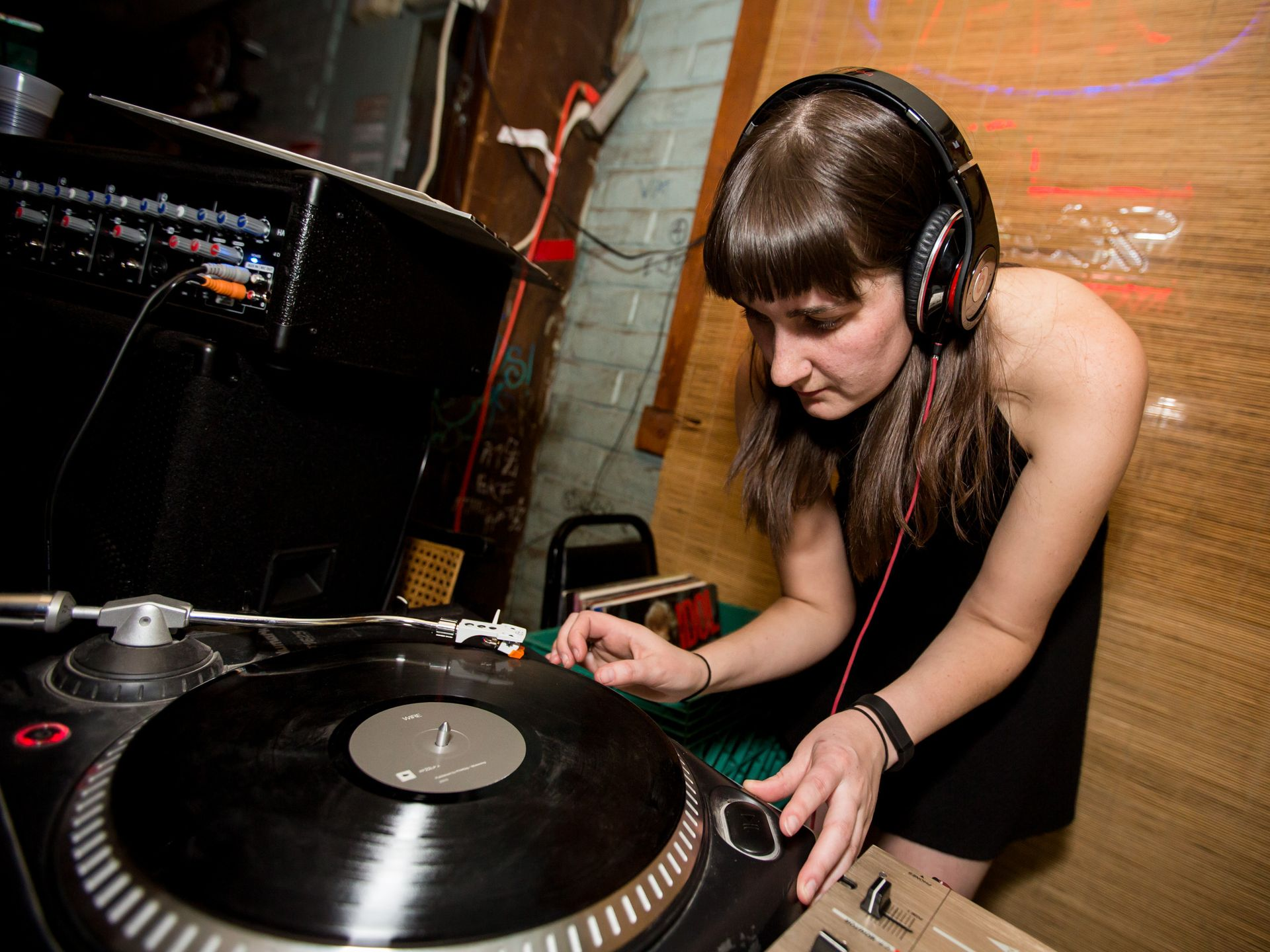 A Claire Slattery at Butthurt Valentine's Party - Photo by Melissa Fossum
