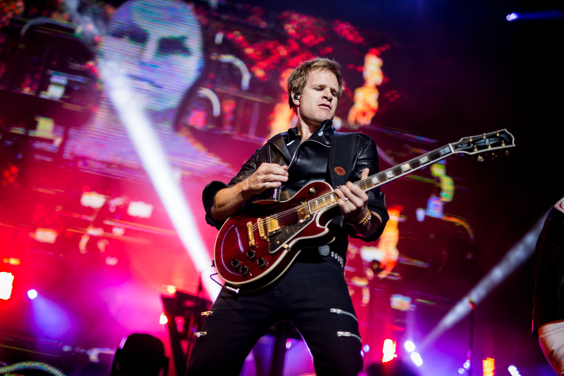 Dom Brown of Duran Duran: Photo by Melissa Fossum
