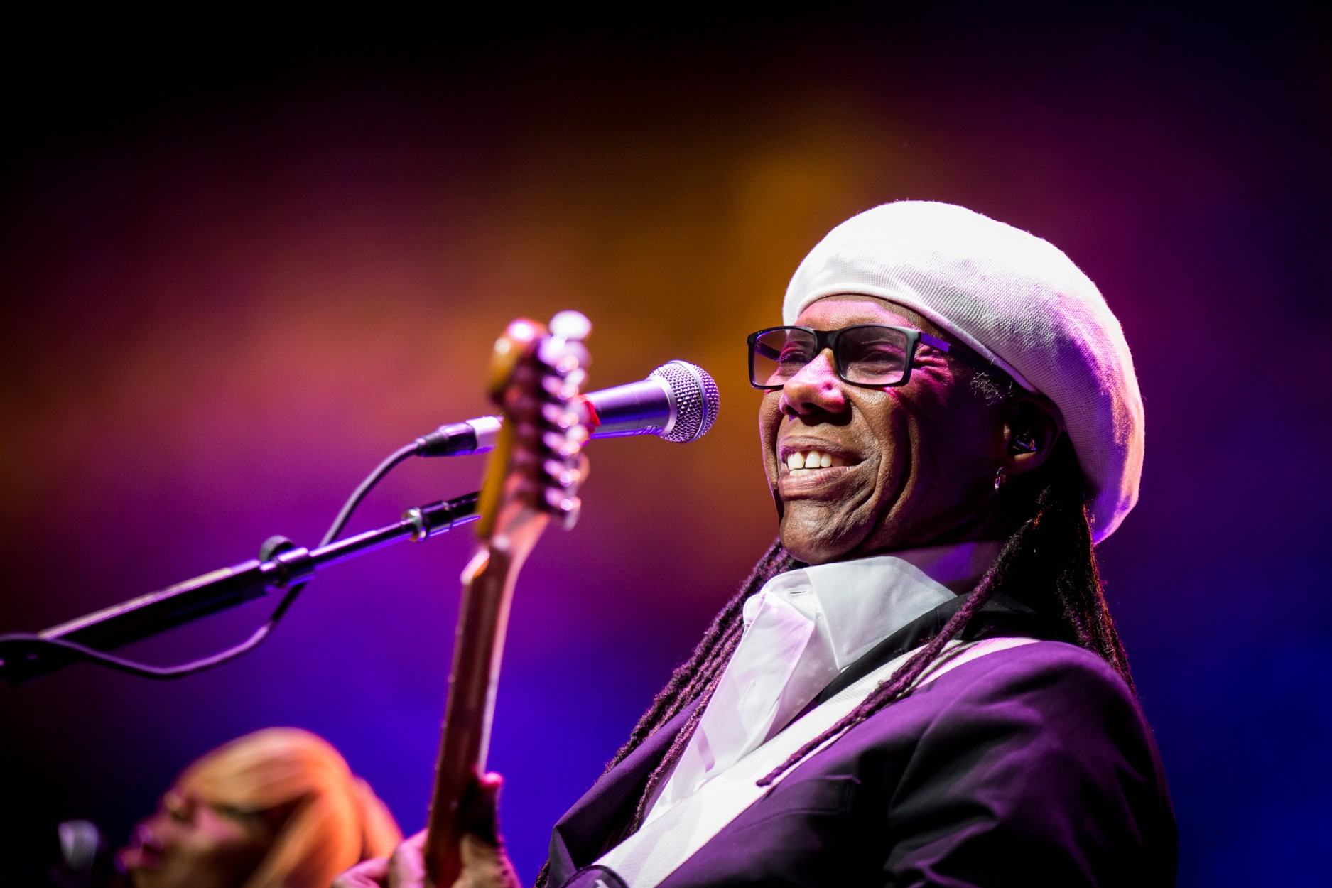 Nile Rodgers of Chic: Photo by Melissa Fossum
