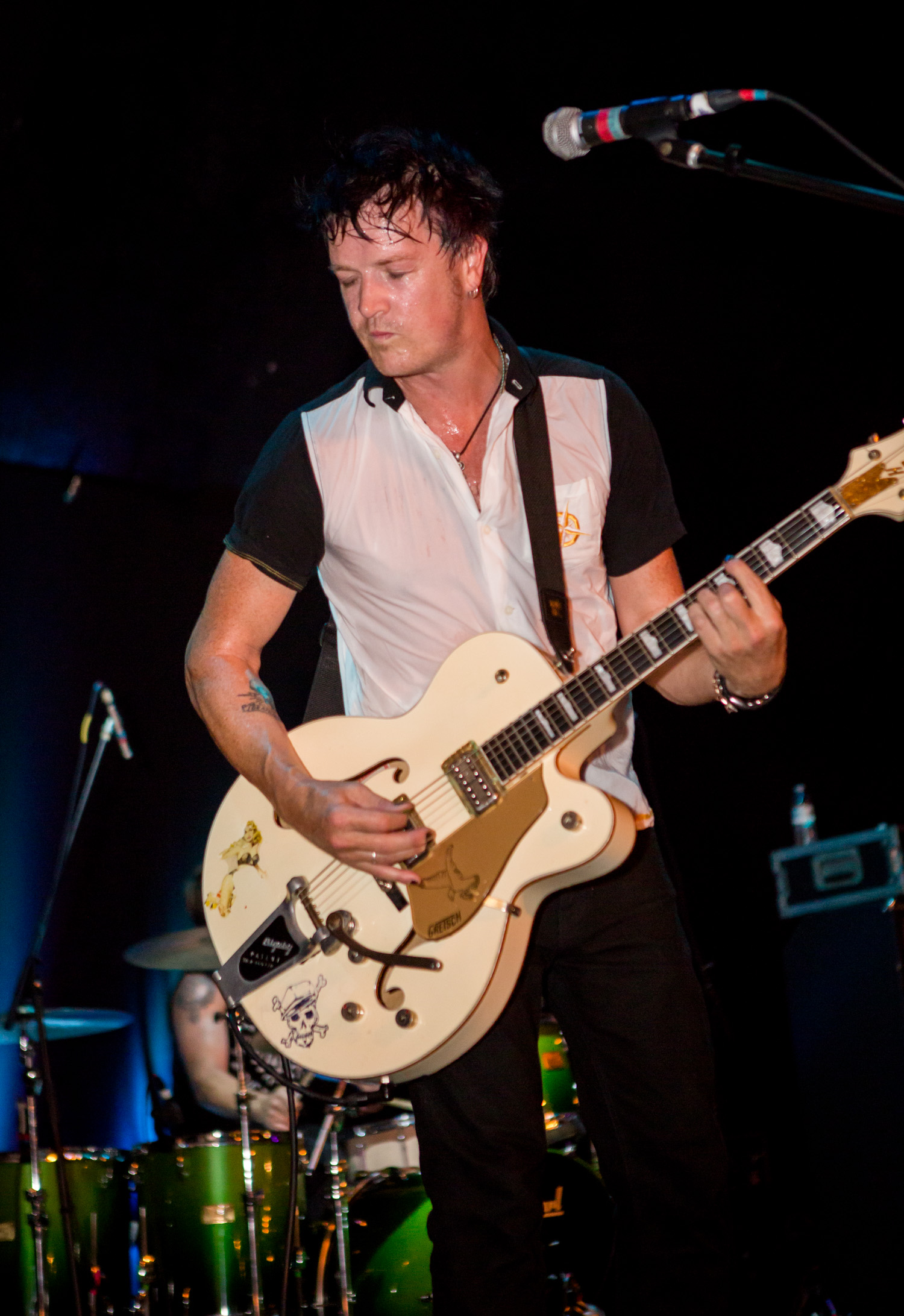 The Living End's Chris Cheney: Photo by Melissa Fossum