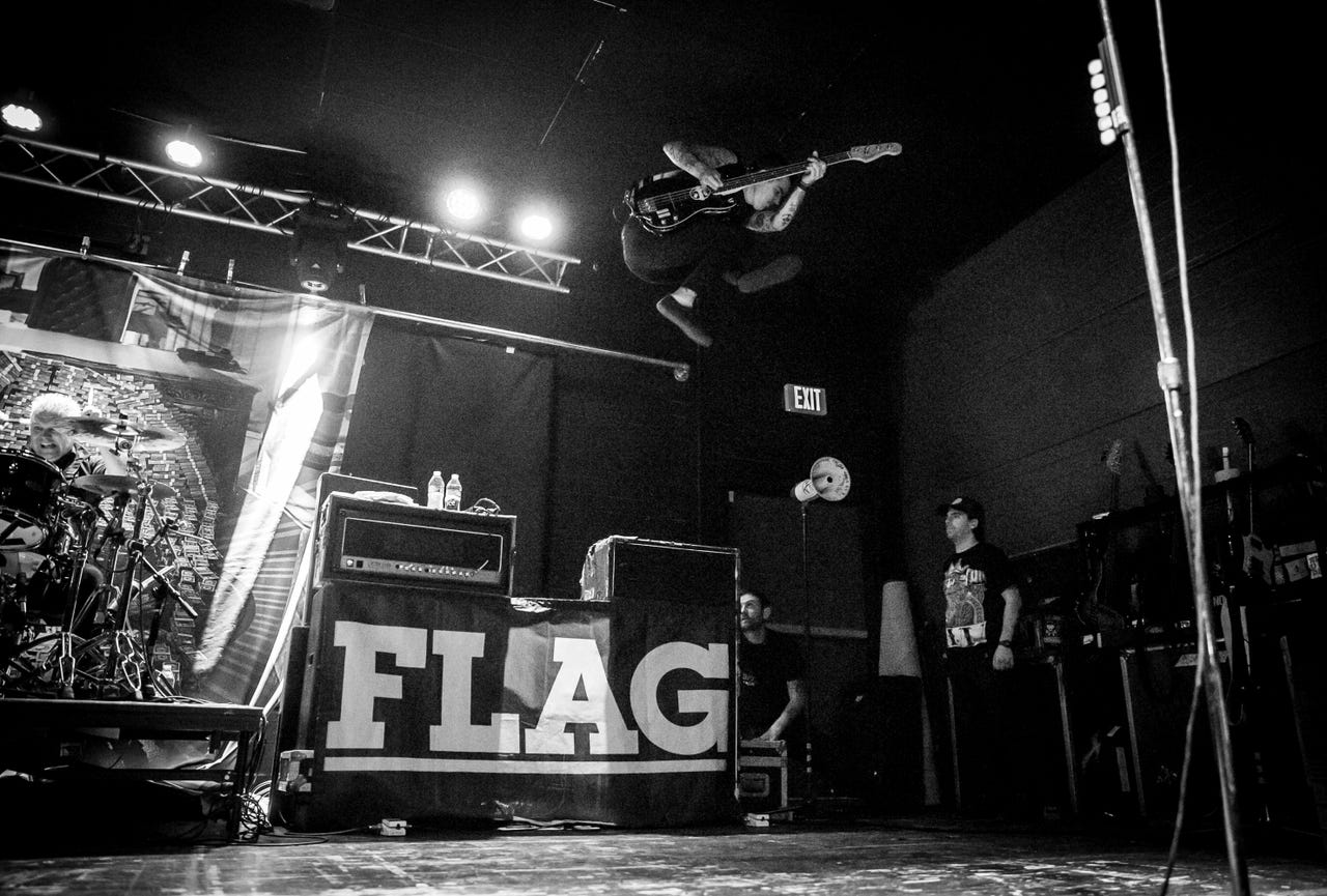 Anti-Flag at Club Red, 2.1.18. Photo credit:  Melissa Fossum/Arizona Republic .
