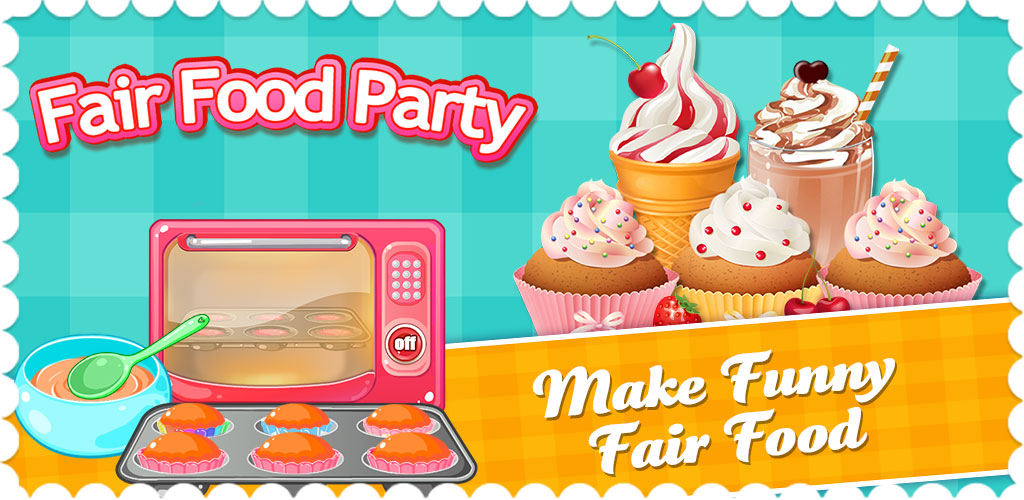 Junior Chef: Fair Food Cooking  With Junior Chef: Spring Fair Kitchen, you can prepare your very own spring picnic lunch box, complete with dessert, ice cream treat, and sweet candy!